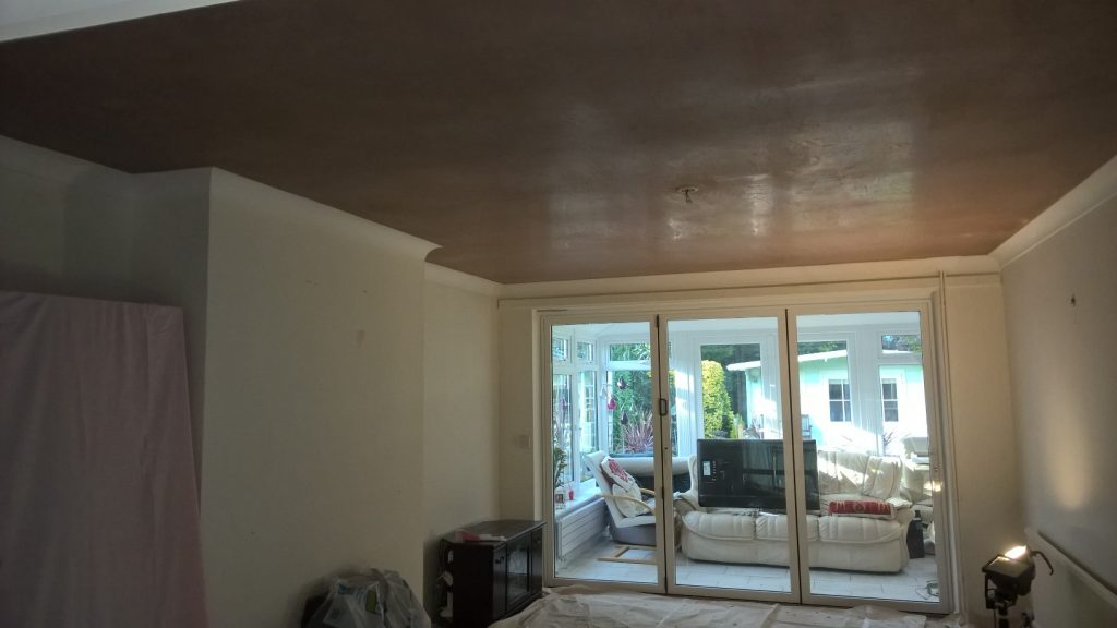 Smoothing Artex Ceiling/Making Good